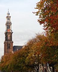 Autumn in Amsterdam. Westerkerk. (elsa11) Tags: autumn amsterdam herfst westertoren westerkerk autumninamsterdam