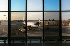 Sheremetyevo International Airport (travelingmipo) Tags: travel window airplane photo airport russia moscow aircraft  aeroflot      sheremetyevo