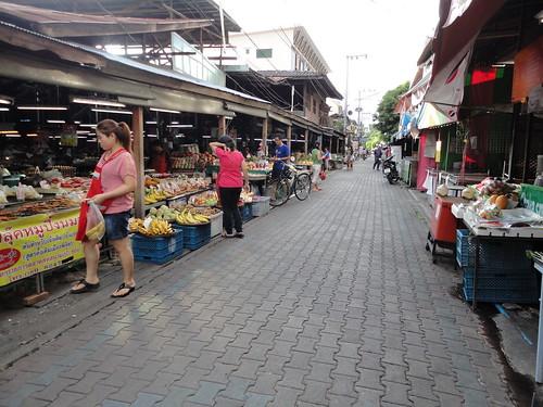 Random local market Chiang Mai