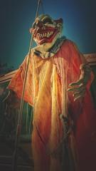 IMG_1368.JPG (Jamie Smed) Tags: halloweennights iphoneedit handyphoto skies decorations costume app blue wintonwoods vignette halloween orange snapseed 2010 mextures sky hdr autostitch geotagged geotag creepycampout hamiltoncounty cincinnati