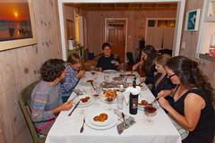 Rosh Hashanah (Zlatko Unger) Tags: california ca holiday cali dinner vegan tofu delicious vegetarian rosh hashanah beats