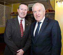 Minister Deenihan with David Brennan