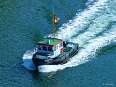 MS Regenpfeifer II in Action... (Lullabay 61) Tags: deutschland kiel nordostseekanal schleswigholstein
