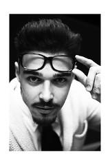 (Elena Torre) Tags: portrait white black photography eyes nikon sguardo bla ritratto maxxi