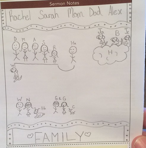 Rachel's Drawing of Our Family by Wesley Fryer, on Flickr