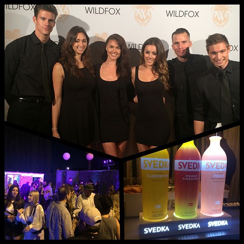 We are at the Wildfox event making some yummy Svedka drinks! #wildfoxcouture #takemetowildfox @wildfoxcouture #events #eventlife #bartenders #servers #models #svedka @svedkavodka #peachmango #peach #clemintine   #vodka #welovesvedka #sunsetplaza #200Proof
