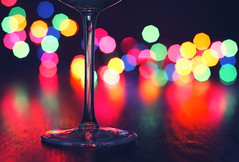 drinking alone (*Chris van Dolleweerd*) Tags: reflection colors bar canon lights cafe dof wine drink bokeh drinking 7d wineglass liquid wijn reflectie kleuren wijnglas canon50mm14 chrisvandolleweerd