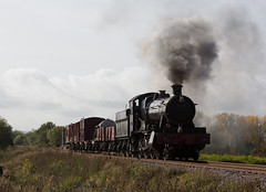 7820 'Dinmore Manor' (norman-bates) Tags: br locomotive manor gwr steamlocomotive greatwestern 7820 gloucestershirewarwickshirerailway gwsr dinmoremanor timelineevents