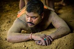 Kushti wrestler, Varanasi (Rafal Kubik) Tags: india varanasi wrestler banaras akhara kushti traditionalwrestling