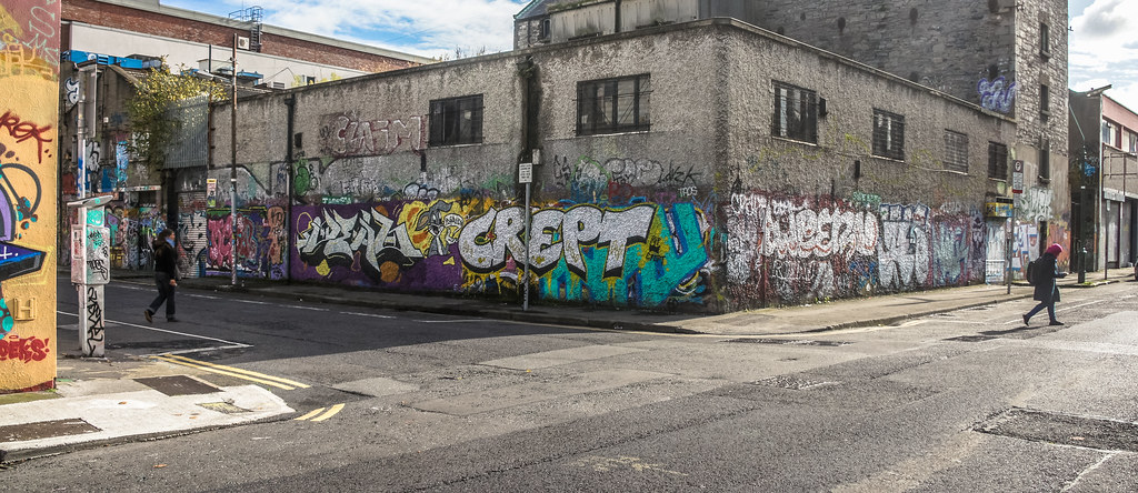 Windmill Lane [U2 Wall] In Dublin Docklands Ref-2211