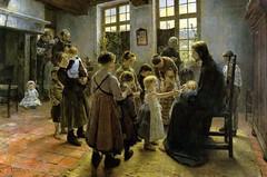 The Gospel of St. Luke 18 15-17 Jesus blesses children - Amgad Ellia 12 (Amgad Ellia) Tags: st children jesus luke 18 gospel amgad ellia the 1517 blesses