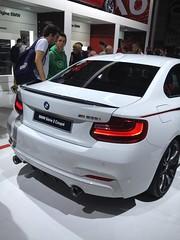 BMW Srie 2 Coup Salon (louishuaume) Tags: paris mercedes martin huracan ferrari bmw salon jaguar lamborghini m4 aston voitures vantage supercars gts i8 rapide carspotting multicars aventador