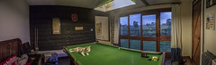 Snooker Table Panorama (phoebemarywright) Tags: panorama college cat sunrise table outdoor vibrant edited indoor level snooker photgraphy paston as