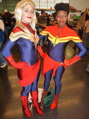 P1120704 (Randsom) Tags: nyc newyorkcity newyork costume cosplay convention heroine superhero comicbooks marvel cosmic marvelcomics avengers javits captainmarvel 2014 nycc superheroine newyorkcomiccon msmarvel october2014 nycc2014 newyorkcomiccon2014