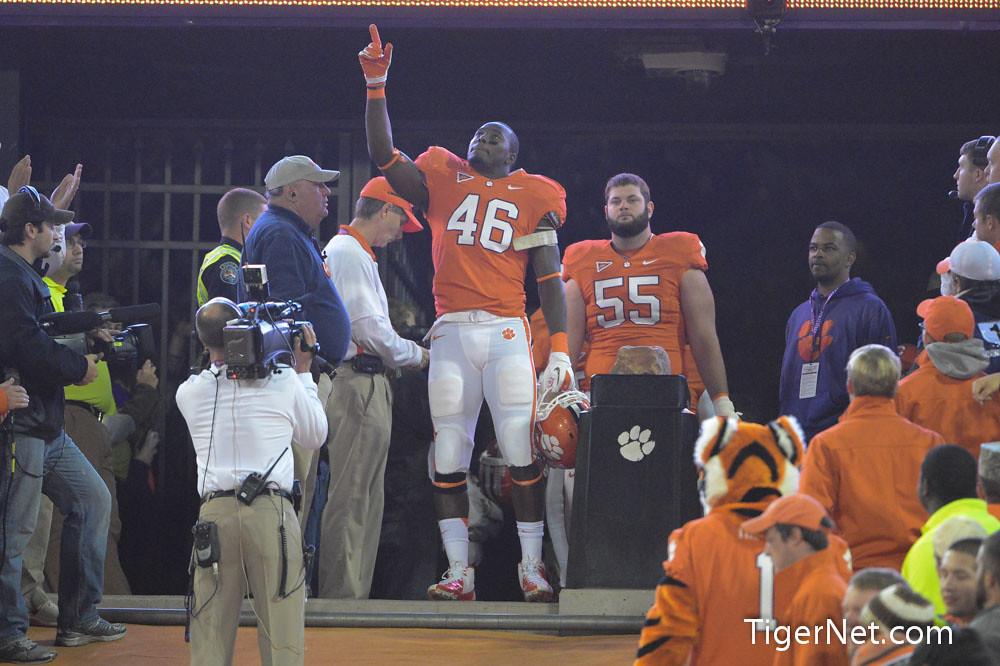 Clemson Photos: 2012, Football, Jonathan  Willard, seniors, South  Carolina