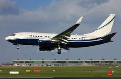 N8767 (Ken Meegan) Tags: dublin boeing 737 b737 boeing737 bbj 737700 boeing737700 b737700 32807 boeingbbj hl7770 avjetcorp n8767 boeing7377eg 7377eg b7377eg 21102014