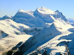Grand Combin (oobwoodman) Tags: schnee snow mountains alps montagne alpes schweiz switzerland suisse aerial glacier berge neige alpen gletscher wallis valais luftaufnahme grandcombin aerien