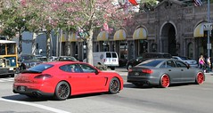Porsche Panamera GTS (970.2), Royal 1 Motorsport S6 (C7) (SPV Automotive) Tags: red black cars sports car sedan 1 royal exotic porsche tuner audi matte motorsport gts s6 c7 panamera 9702 stanced