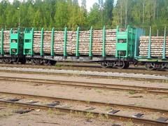 Kuusaanniemi railway yard (Kouvola, 20140816) (RainoL) Tags: eh finland geotagged railway august 2014 kouvola kymenlaakso kuusankoski railwayyard kuusaanniemi 201408 20140816 geo:lat=6092190287 geo:lon=2665180206