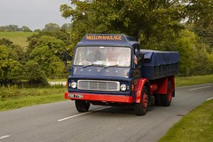 Dodge K500 - YRR 779H (Ben Matthews1992) Tags: road old classic 1969 wales truck vintage wagon tipper heart transport run historic lorry commercial vehicle dodge preserved mellon preservation waggon 2014 haulage k500 heartofwales yrr779h