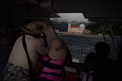 peraste, montenegro (kk3nt) Tags: ocean travel storm church asian island boat streetphotography tourists montenegro perast ourladyoftherocks nikondf peraste