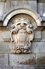 PLAA CATALUNYA - ESCUT DE GIRONA (Yeagov C) Tags: barcelona girona catalunya escut plaacatalunya escutdegirona