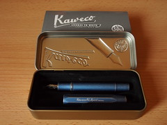 Kaweco AL Sport Stonewashed Blue - Open Box