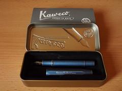 Kaweco AL Sport Stonewashed Blue - Open Box
