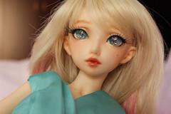 Oscardoll crystal no.027 (reem.alhashmi) Tags: new eve family pink blue flower eye nova eyes crystal turquoise no cream fl bud colourful 27 16mm fairyland nf mnf newfamily no27 leekeworld minifee nf14 evecream oscardoll smpdoll no027