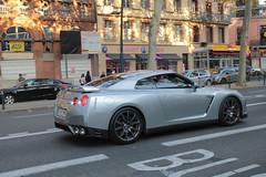 Nissan GTR (xwattez) Tags: street france car japanese automobile nissan voiture transports toulouse rue gtr 2014 sportive japonaise vhicule