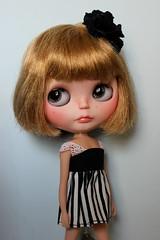 Kelly (sanxistreet (Love Note Studios)) Tags: cute love me true kiss doll spice note blythe custom studios blythedoll casseopiea