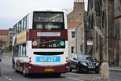 847 (Callum's Buses and Stuff) Tags: bus buses volvo newhaven gemini lothian madder lothianbuses gemini2 b9tl madderandwhite madderwhite busesedinburgh
