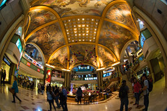 Galerias Pacifico (Ben-ah) Tags: argentina mall buenosaires mural fisheye shoppingmall galeriaspacifico beauxarts