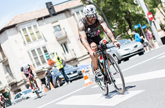 Triathlete (Sport photo & portraits) Tags: street city boy bike sport tattoo ink canon 50mm cyclist triathlon triathlete triatlon 70d