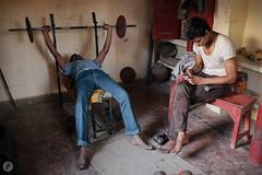 Wrestlers Varanasi India Danny Fernandez Photography (14 of 16) (Danny Fernandez) Tags: varanasi wrestlers travelphotography amhara kushti vsco documentaryphotographyindia x100s documentarytravelphotography dannyfernandezphotography