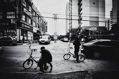 ((Jt)) Tags: blackandwhite film kids asia streetphotography bikes korea ishootfilm iksan ricohgr21 tmax400pushed streettogs jtinseoul believeinfilm buyfilmnotmegapixels
