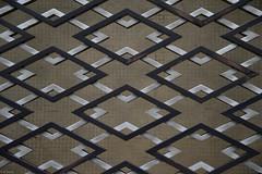 (kasa51) Tags: motif japan tokyo design pattern outerwall oldhotel diamondshape