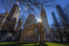 Heights and Brights (JeffMoreau) Tags: heights brights martin puryear madison square park structures nyc new york city buildings urban sony a7ii variotessar zeiss sculpture art installation exhibition sun