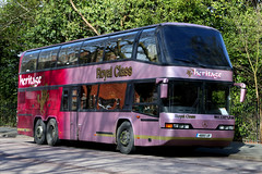 4885 UR, Museum Road, Portsmouth, March 7th 2017 (Southsea_Matt) Tags: 4885ur neoplan n122 skyliner triaxle heritage museumroad portsmouth hampshire england unitedkingdom canon 80d 24105mm march 2017 spring omnibus bus coach vehicle passengertravelpublictransport