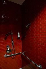 Shower area (A. Wee) Tags: deltaairlines 达美航空 skyclub airport lounge 机场 lax losangeles 洛杉矶 california 加州 usa america 美国 shower 沐浴室