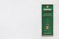 ... letter box ... (jane64pics) Tags: gcc greystonescameraclub green letter box postbox janefriel janefriel2017 wicklow ireland heritageireland old oldireland letterbox irishharp irishpostalservice