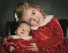 Two Christmas Angels (bsurma) Tags: bsurma people bill surma billsurma portrait children