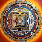 Mandala Thangka - Buddhist Painting, Bhaktapur, Nepal 2011 thumbnail