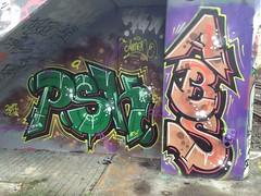 PSK / ABS - Hamburg Harburg (inking systems) Tags: psk abs hamburg harburg hall fame graffiti germany