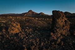 Frozen lava (StrixUralensis) Tags: teide canaryislands tenerife sky blue yellow mountain spain nikond5300 lava volcano