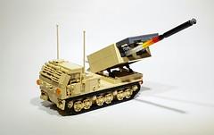 M270 Multiple Launch Rocket System (Project Azazel) Tags: m270 legom270 pa projectazazel military rocketlauncher legorocketlauncher legomilitary modernmilitaryvehicle custom legocustom model legomodel armouredartillery legoartillery