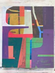 Jim Harris: The Cannonball Adderley Quintet at the Lighthouse 1960 (Jim Harris: Artist.) Tags: art arte painting konst kunst peinture lartabstrait maalaus modernart mfa geometric jazz music taide