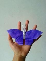 Butterfly - Hideo Komatsu (javier vivanco origami) Tags: butterfly hideo komatsu origami ica perú javier vivanco