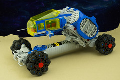 BBOI NCS Rover (01) (F@bz) Tags: space rover febrovery neoclassicspace lego moc sf futuristicvehicle