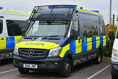 DG16 JNN (S11 AUN) Tags: cheshire police mercedes sprinter psu support unit pov publicordervehicle carrier 999 emergency response vehicle dg16jnn